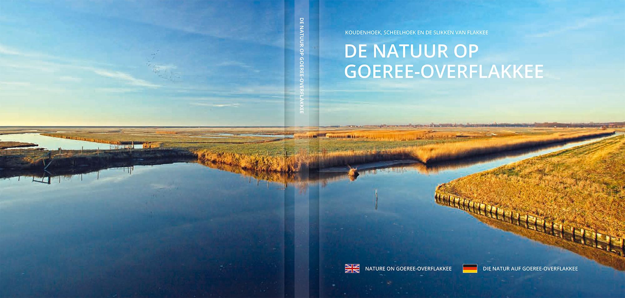 Uitklap Omslag 'De natuur op Goeree-Overflakkee'