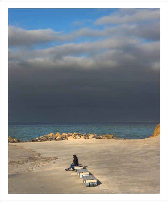Winter aan de kust