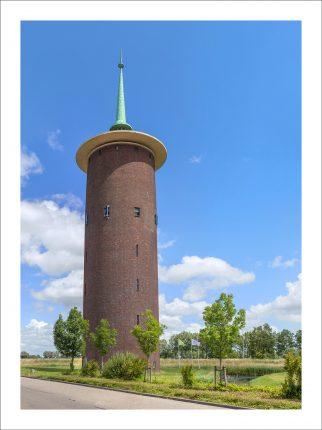 De watertoren van Dirksland
